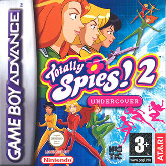 Juego online Totally Spies 2: Undercover (GBA)