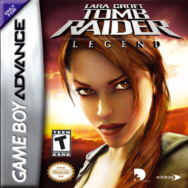 Portada de la descarga de Lara Croft: Tomb Raider Legend