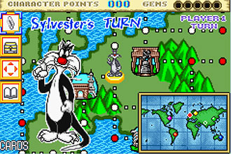 Pantallazo del juego online Tweety & The Magic Gems (GBA)