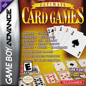 Juego online Ultimate Card Games (GBA)