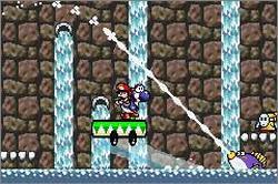 Pantallazo del juego online Yoshi's Island Super Mario Advance 3 (GBA)