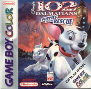 Carátula del juego 102 Dalmatians Puppies to the Rescue (GB COLOR)