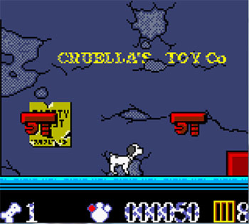 Pantallazo del juego online 102 Dalmatians Puppies to the Rescue (GB COLOR)