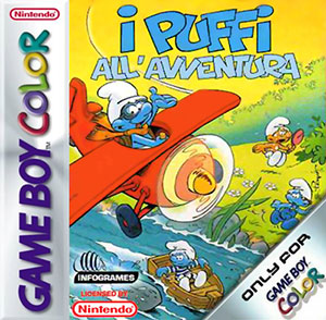 Juego online The Adventures of the Smurfs (GB COLOR)