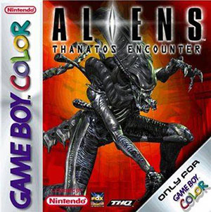 Carátula del juego Aliens Thanatos Encounter (GB COLOR)