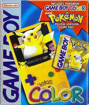 Carátula del juego Pokemon Edicion Amarilla (GB)