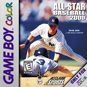 Carátula del juego All-Star Baseball 2000 (GB COLOR)