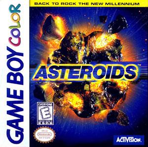 Juego online Asteroids (GB COLOR)