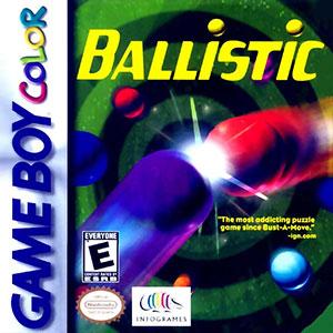 Carátula del juego Ballistic (GB COLOR)