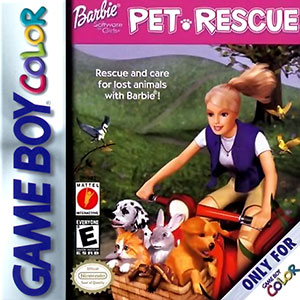 Juego online Barbie Pet Rescue (GB COLOR)