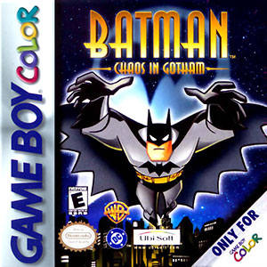 Juego online Batman: Chaos in Gotham (GB COLOR)
