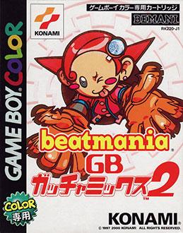 Portada de la descarga de beatmania GB Gotcha Mix 2