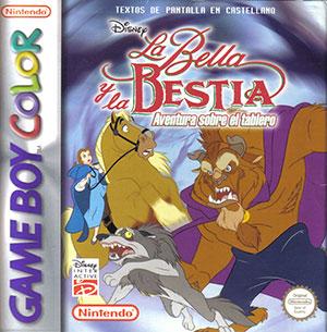 Juego online Disney La Bella y la Bestia: Aventura sobre el tablero (GB COLOR)