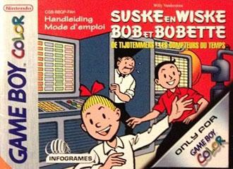 Portada de la descarga de Bob et Bobette: Les Dompteurs du Temps