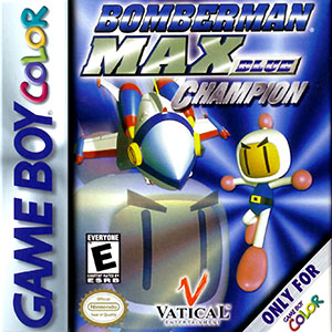 Juego online Bomberman MAX Blue Champion (GB COLOR)