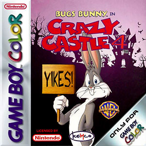 Juego online Bugs Bunny in Crazy Castle 4 (GB COLOR)