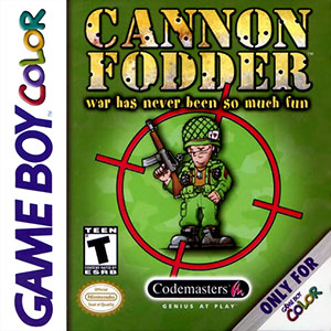 Juego online Cannon Fodder (GB COLOR)