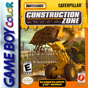 Juego online Matchbox Caterpillar Construction Zone (GB COLOR)