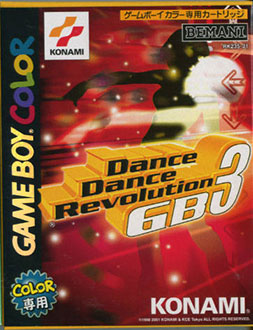 Juego online Dance Dance Revolution GB3 (GBC)