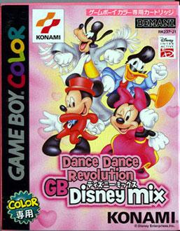 Juego online Dance Dance Revolution GB Disney Mix (GBC)