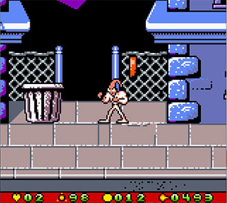 Pantallazo del juego online Earthworm Jim Menace 2 the Galaxy (GB COLOR)