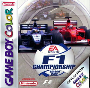 Carátula del juego F1 Championship Season 2000 (GBC)