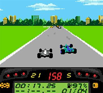 Pantallazo del juego online F1 Championship Season 2000 (GBC)