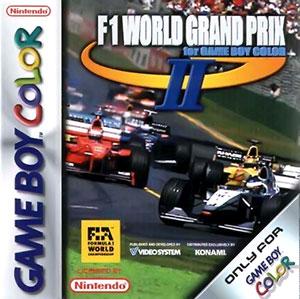 Carátula del juego F1 World Grand Prix II (GBC)