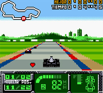 Pantallazo del juego online F1 World Grand Prix II (GBC)