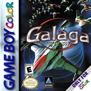 Juego online Galaga: Destination Earth (GBC)