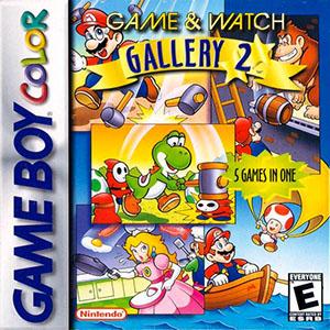 Portada de la descarga de Game & Watch Gallery 2