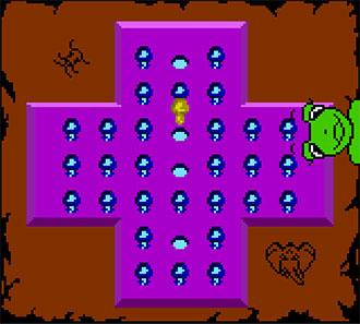 Pantallazo del juego online Games Frenzy (GBC)