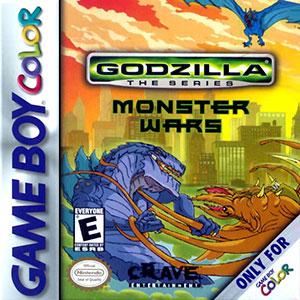Carátula del juego Godzilla The Series - Monster Wars (GBC)
