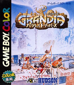 Juego online Grandia: Parallel Trippers (GBC)