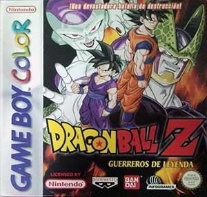 Carátula del juego Dragon Ball Z Guerreros de Leyenda (GB COLOR)