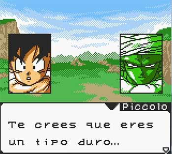 Pantallazo del juego online Dragon Ball Z Guerreros de Leyenda (GB COLOR)