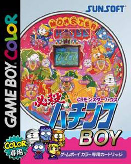 Juego online Hissatsu Pachinko Boy CR Monster House (GBC)