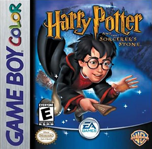 Juego online Harry Potter And The Sorcerer's Stone (GBC)
