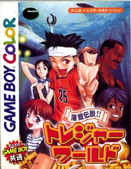 Juego online Kaitei Taisensou!! Treasure World (GBC)