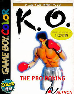 Juego online K.O. - The Pro Boxing (GBC)