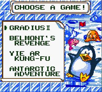 Imagen de la descarga de Konami GB Collection Volume 4