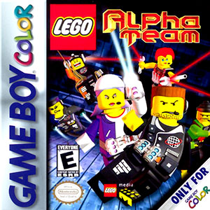 Portada de la descarga de LEGO Alpha Team
