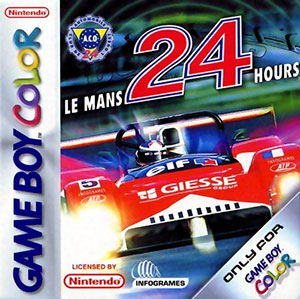 Juego online Le Mans 24 Hours (GBC)