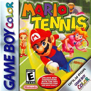 Juego online Mario Tennis (GBC)
