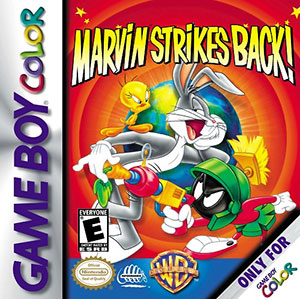 Juego online Marvin Strikes Back! (GBC)