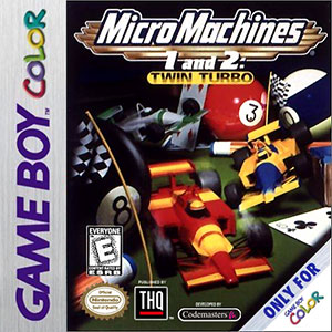 Juego online Micro Machines 1 and 2: Twin Turbo (GBC)