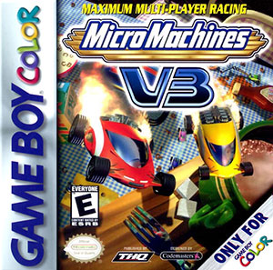 Portada de la descarga de Micro Machines V3