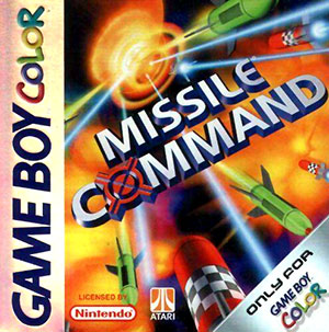 Juego online Missile Command (GBC)