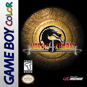 Juego online Mortal Kombat 4 (GBC)