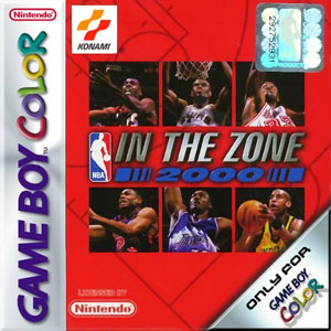 Juego online NBA In the Zone 2000 (GBC)